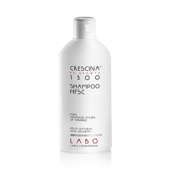 CRESCINA RE-GROWTH HFSC 1300 plaukų augimą skatinantis šampūnas vyrams 200ml