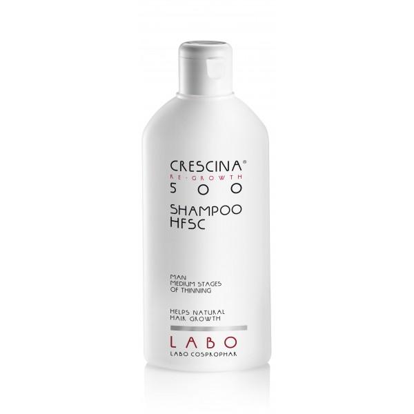 CRESCINA RE-GROWTH HFSC 500 plaukų augimą skatinantis šampūnas vyrams 200ml