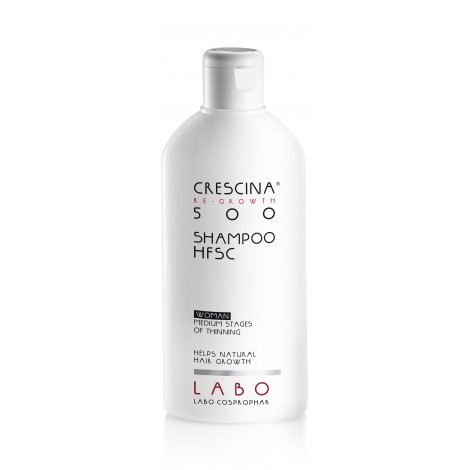 CRESCINA RE-GROWTH HFSC 500 plaukų augimą skatinantis šampūnas moterims 200ml