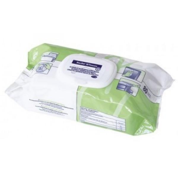 Bacillol 30 servetėlės dezinfekcijai 80vnt