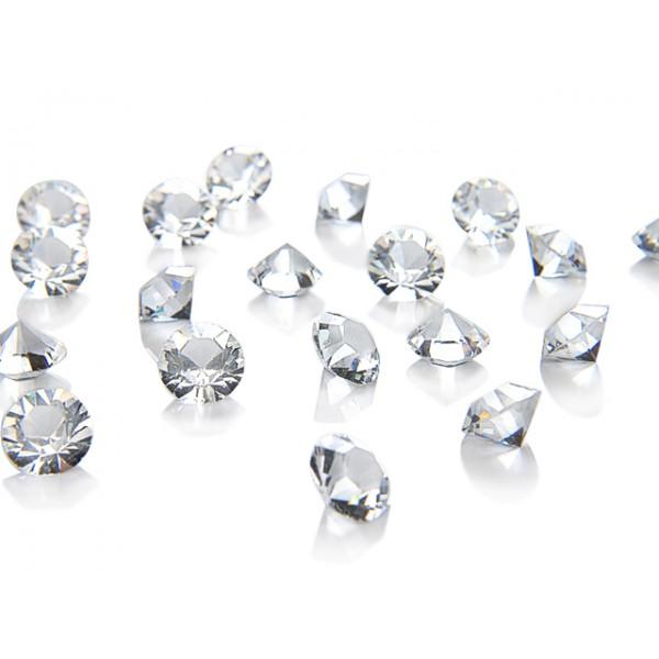 Kristalai skaidrūs 50vnt. 1.33mm